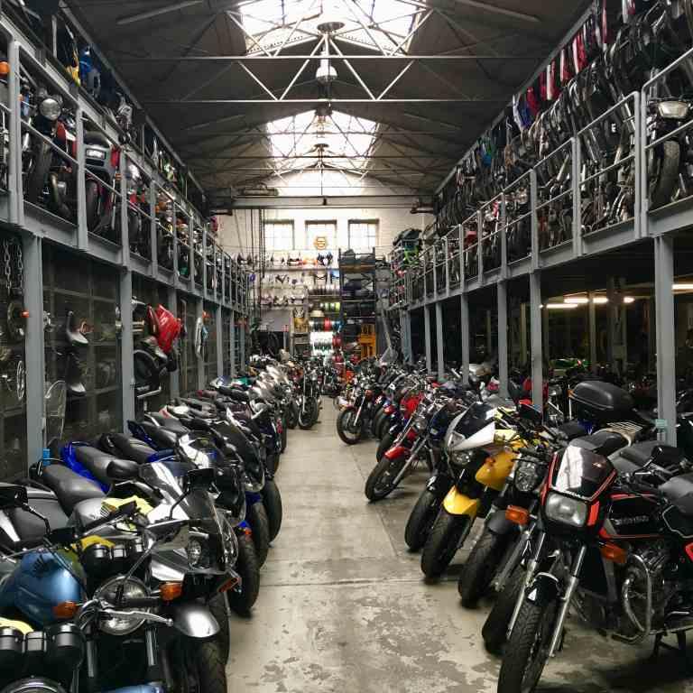 Peter Kaup - Die Motorrad Halle